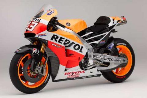 Honda MotoGP参戦マシン「RC213V」を一般公道可能な仕様にして販売